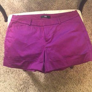 Cute Fuchsia Shorts -Size 8